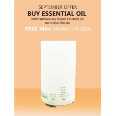 Free Mini Aroma Diffuser    --  ( 5ml Essential Oil )
