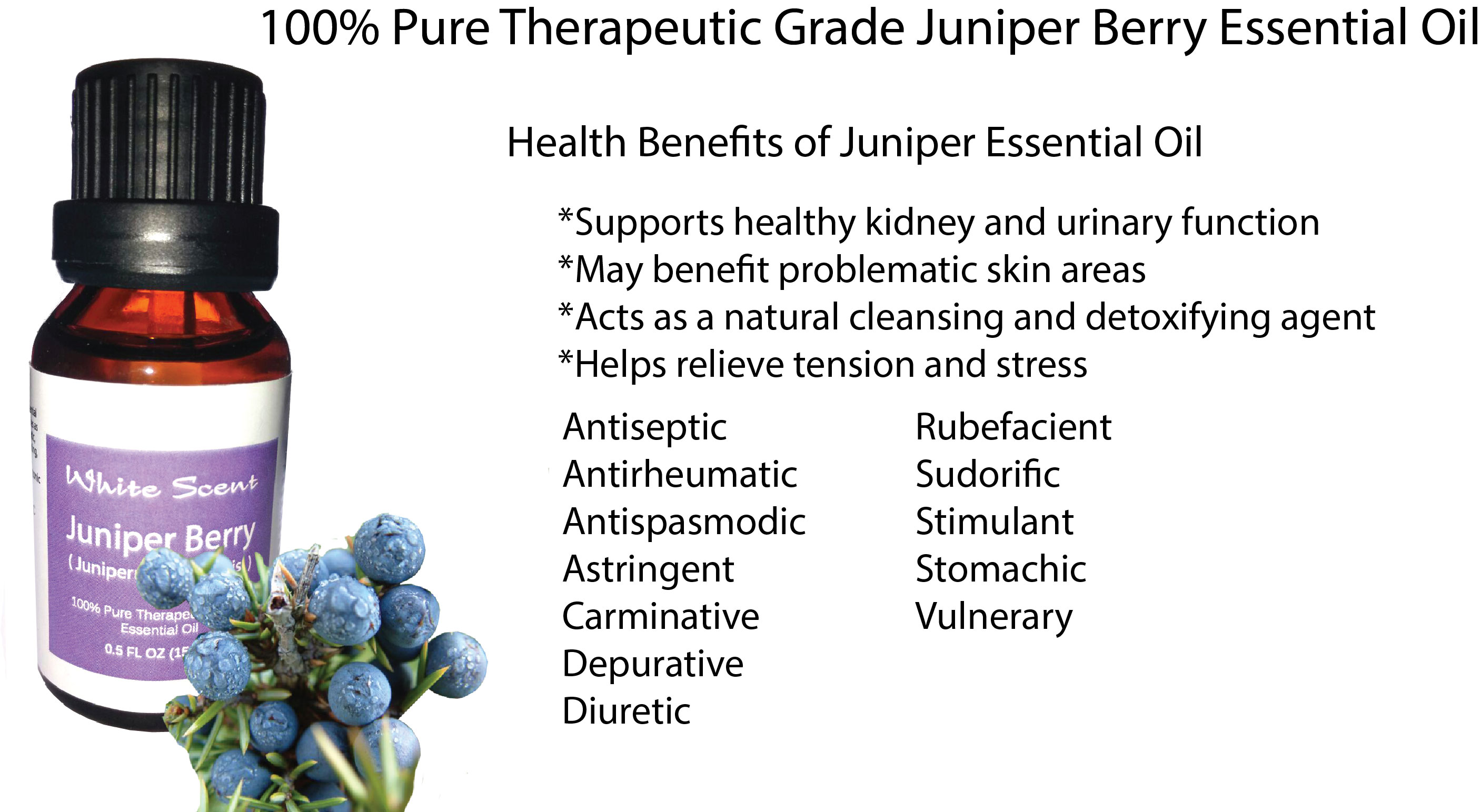 The healing properties of juniper. Nature protects our health